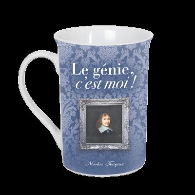 Mug avec portrait de Nicolas Fouquet