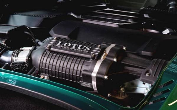 Nouvelle Lotus Exige Sport 350-moteur