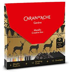 creative-box-metallic-noel-caran-dache