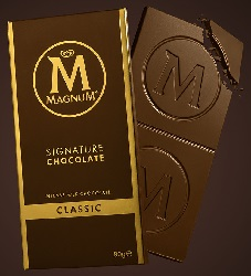 La premi re collection de chocolats par magnum - Magnum chocolat blanc ...