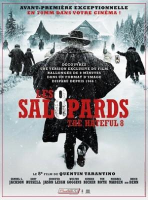 Affiche du film Les 8 Salopards