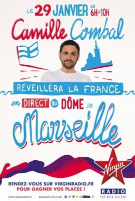 Camille Combal à Marseille le 29 janvier
