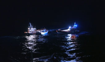 Photo issue du film Lampedusa in winter