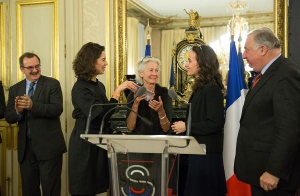 Camille Andrieu lauréate du Prix Claude Erignac