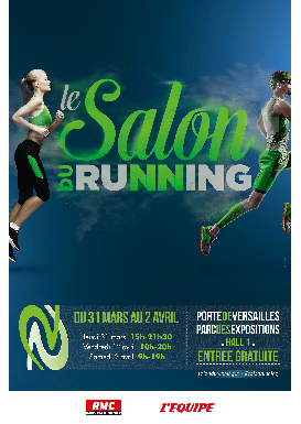 Le salon du running 31 mars au 2 avril for Porte de versailles salon du running