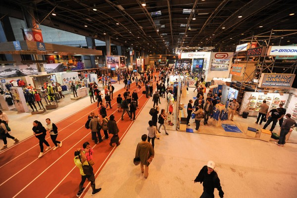 Salon du Running piste