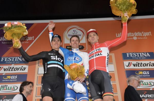 Arnaud Démare vainqueur de Milan San Remo