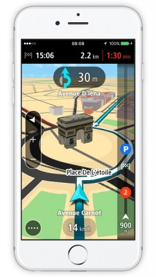 TomTom GO Mobile for iPhone FR 2