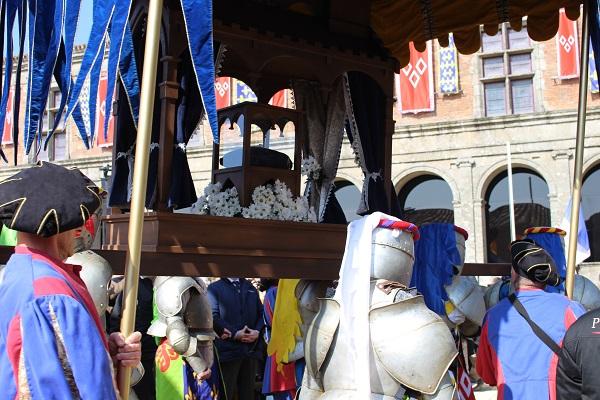 anneau de Jeanne d'Arc au Puy du Fou