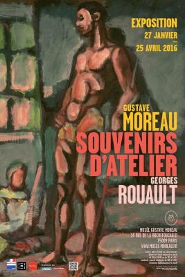 Affiche Exposition Moreau/Roualt