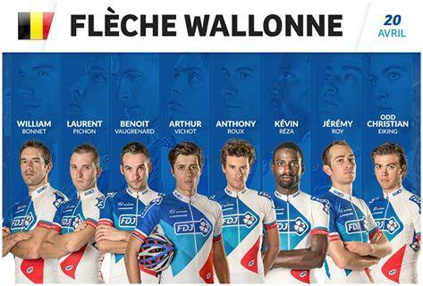 Equipe FDJ sur la Flèche Wallonne 2016