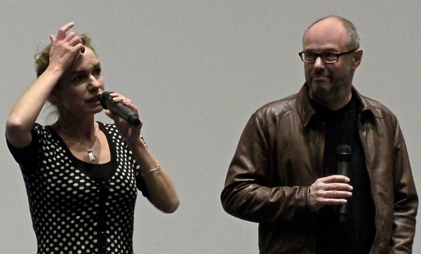 L'équipe du film face au public