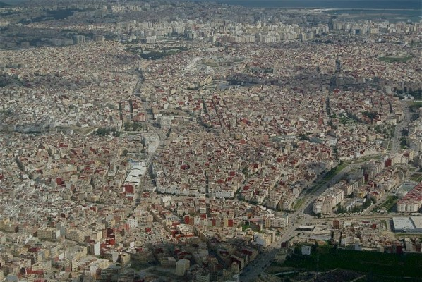 Immense ville