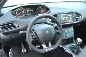 308 GTI tableau de bord