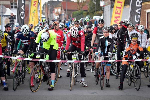 Départ Paris Roubaix Challenge 2016 (Crédit : ASO/ Golazo)
