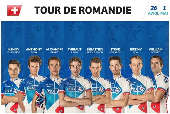 Equipe FDJ - Tour de Romandie