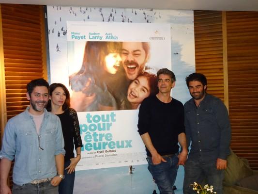 Manu Payet, Aure Atika, Xavier de Moulins, Cyril Gelblat