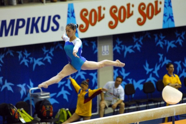 test event gymnastique rio