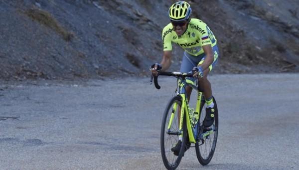 Alberto Contador vainqueur du prologue du Dauphiné Libéré