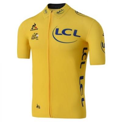 Bleu blanc rouge à l'honneur sur le Maillot jaune du Tour 2016
