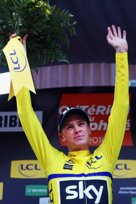 Christopher Froome vainqueur du Dauphiné 2016