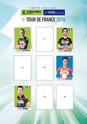 Fortuneo-Vital Concept annonce 4 coureurs sélectionnés pour le Tour