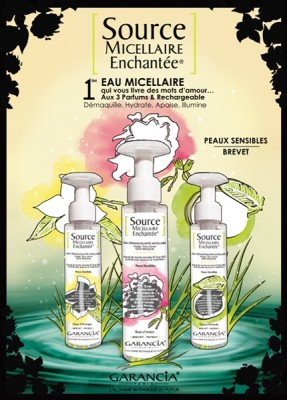 GARANCIA  « Source micellaire enchantée® » et BB cream 004