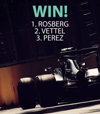 Grand Prix Bakou - Nico Rosberg