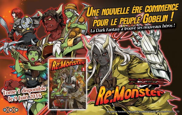 Re-Monster © Éd. Toto