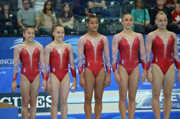 equipe France Championnat europe de Gym