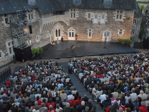 Photos Festival d'Anjou, château du Plessis macé