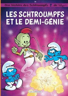 schtroumpfs-et-demi-genie-t34-le-lombard