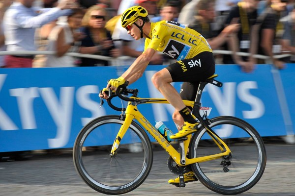 Christopher Froome (Crédit : ASO/P.Ballet)