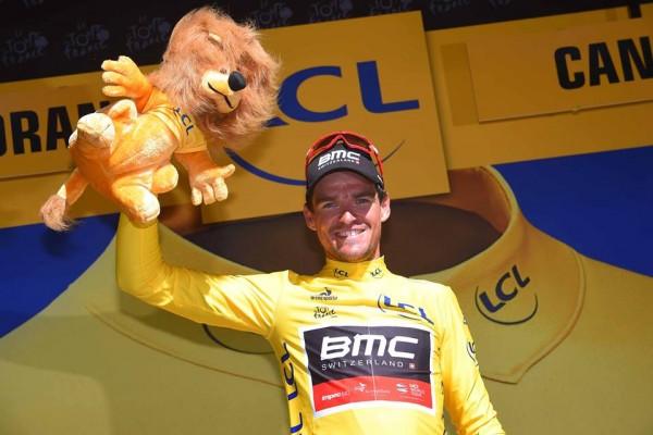 Greg Van Avermaet vainqueur de la 5ème étape et nouveau maillot jaune