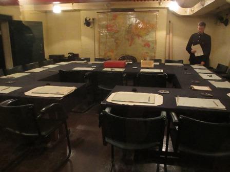 Cabinet de guerre de Churchill : Salle de réunion du cabinet de guerre