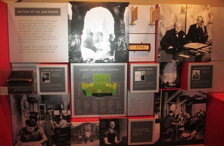 Cabinet de guerre de Churchill : Exposition Undercover