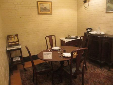 Cabinet de guerre de Churchill : Salle à manger du Premier Ministre