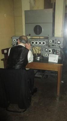 Cabinet de guerre de Churchill : Salle d'équipement de radiodiffusion de la BBC