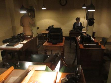 Cabinet de guerre de Churchill : Salle des dactylos