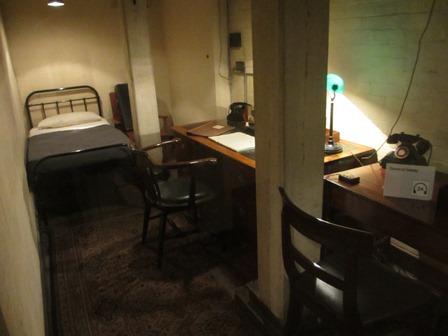 Cabinet de guerre de Churchill : Chambre du général Ismay