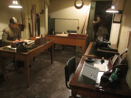 Cabinet de guerre de Churchill : Quartier général des forces nationales