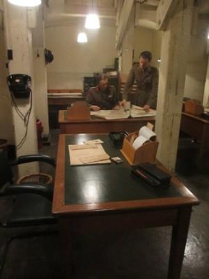 Cabinet de guerre de Churchill : Quartier général avancé des forces nationales