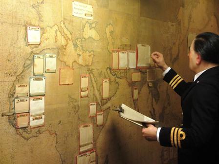 Cabinet de guerre de Churchill : Salle des cartes