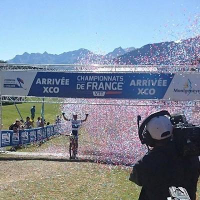 Julien Absalon : 14ème titre de champion de France à Montgenèvre