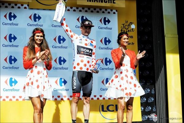 Paul Voss premier maillot à pois du Tour 2016