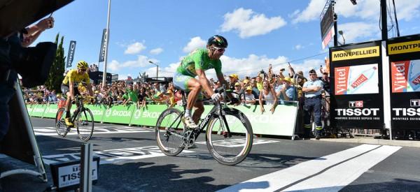 Peter Sagan vainqueur à Montpellier 11ème étape Tour 2016