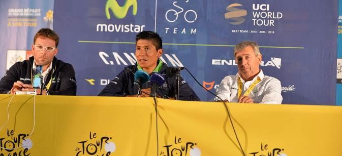 Présentation du Tour de France 2016