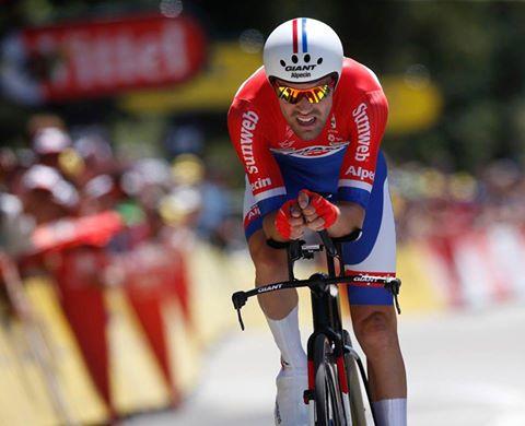 Tom dumoulin vainqueur du contre-la-montre 13ème étape