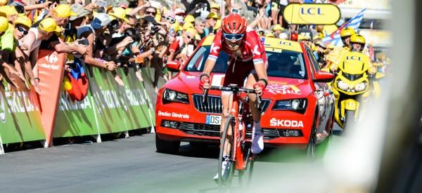 Zakarin vainqueur de la 17ème étape à Finhaut-Emosson