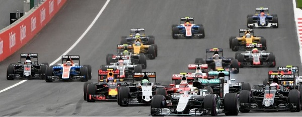 grand prix autriche 2016 Formule 1